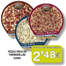 Pizza Tarradellas 2'48 euros