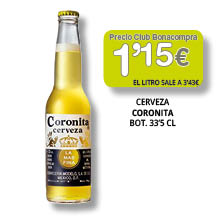 Cerveza Coronita 33cl - 1'15 euros