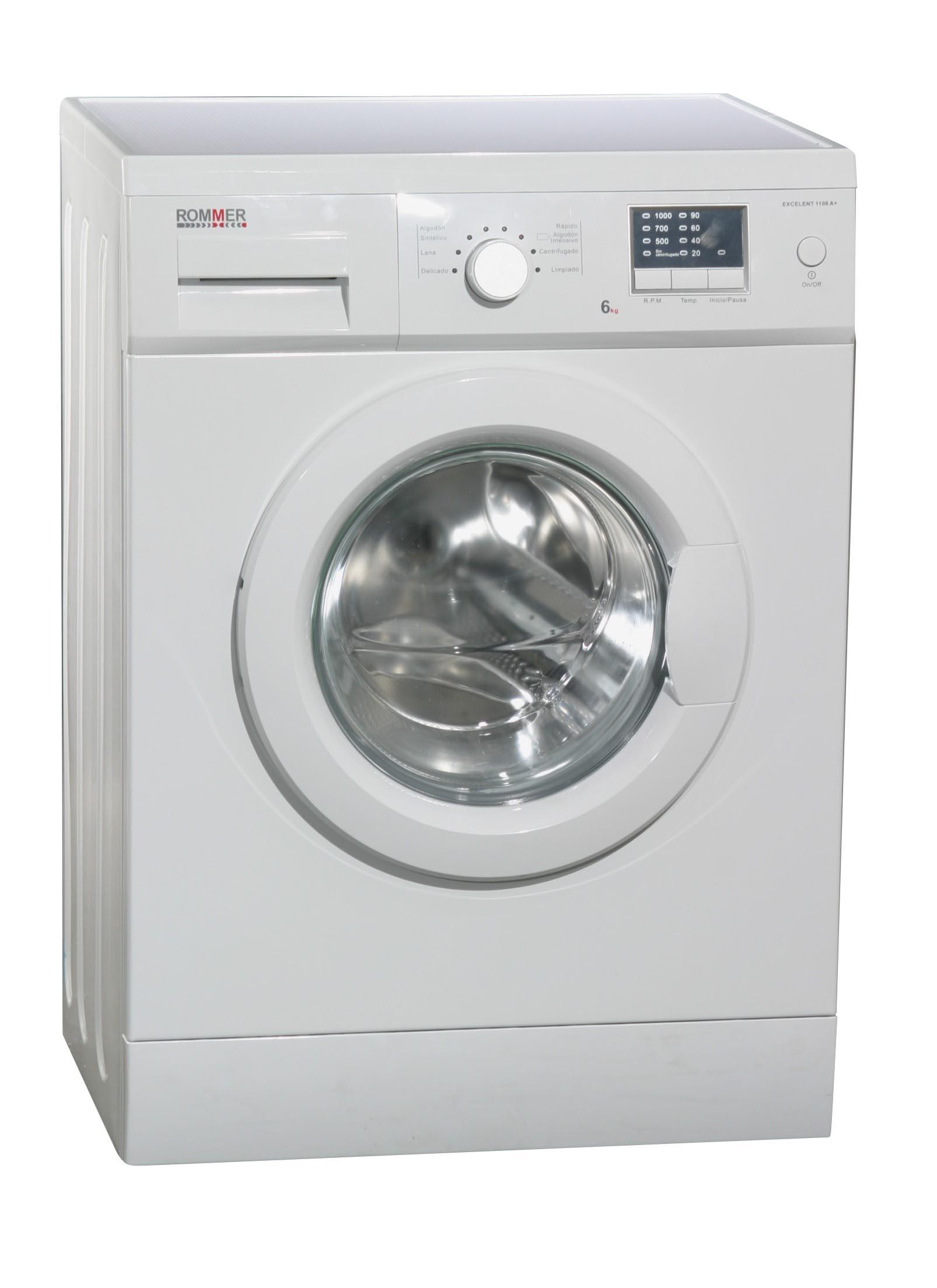 lavadora Rommer, de 6kg de capacidad en Binipreu Menorca por 219