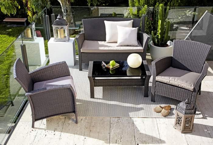 Muebles de jardín y terraza en Binipreu Menorca