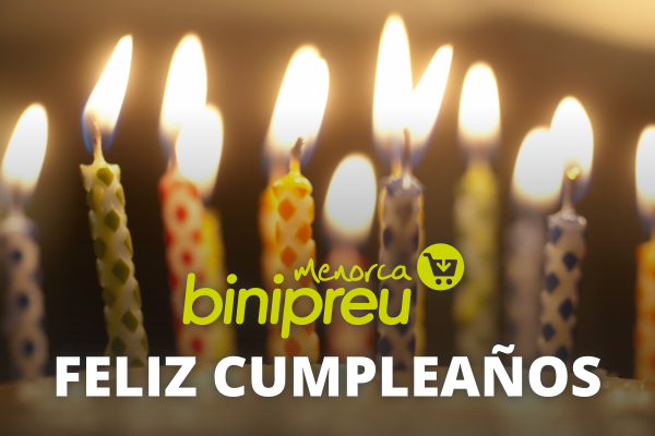 Feliz cumpleaños Binipreu Menorca - Image courtesy of Meredith Bell (bit.ly/birthday-cake-candles), used under a Creative Commons license